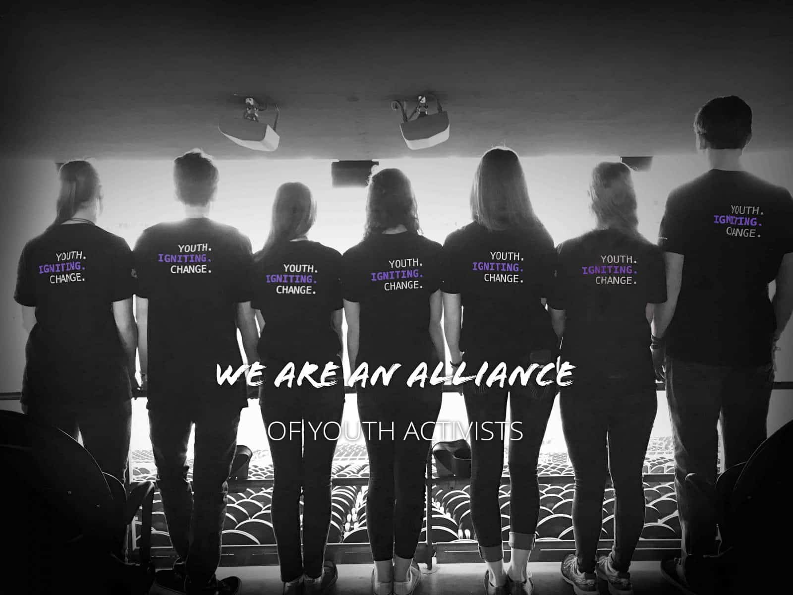 we are an alliance of youth activists